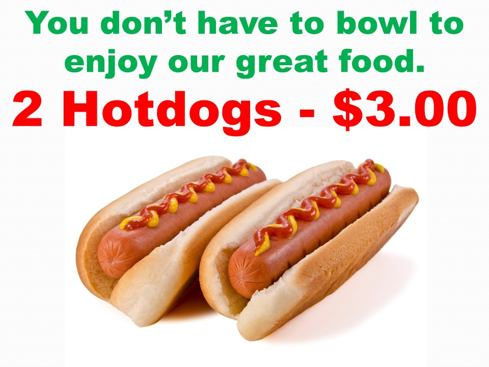 2 Hot Dog Deal